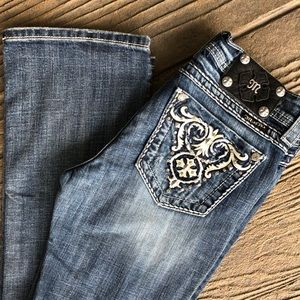 Miss Me Easy Boot Mid Rise Jean Size 26